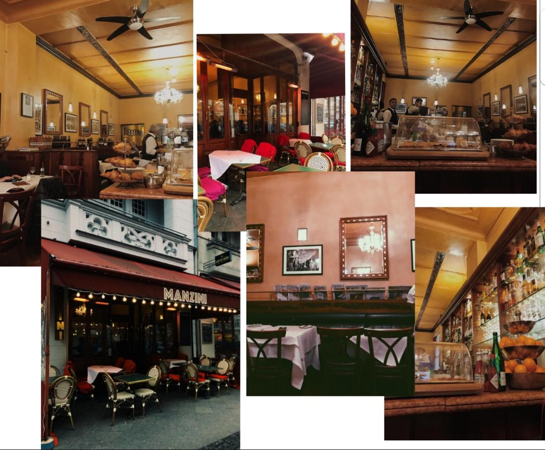 Zwischen Pariser Bistro und WienerKaffeehaus